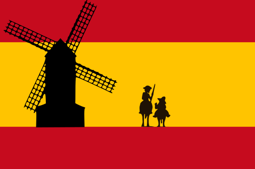 512px-Bandera_de_España_con_Don_Quijote_y_el_Molino_de_viento.svg